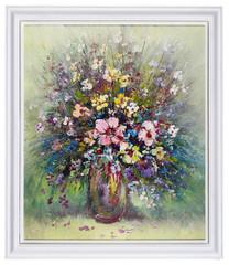 Wild meadow flowers  bouquet