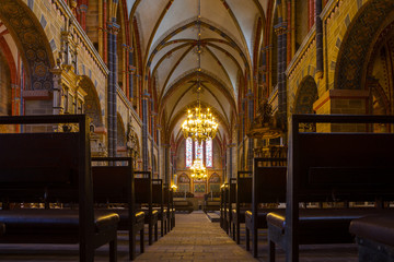 Rich interior of the Bremer Dom Cathedral