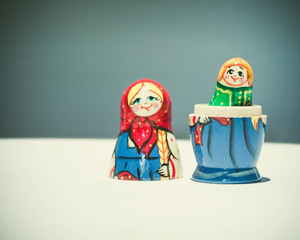 Russian nesting doll toy