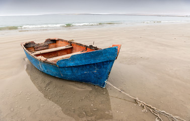 Fishing boat, Paternoster beach, Western Cape