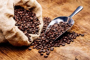Kaffeebohnen geröstet
