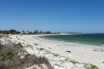 Lancelin beach view in Western Australia