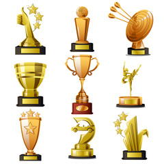 Gold Winning Trophy Designs