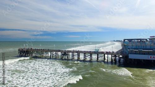 Daytona Beach Fl February 2016 Aerial City View Bea