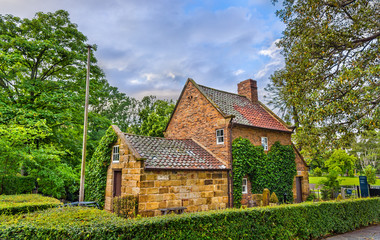 Captain Cook's Cottage in Fitzroy Garden - Melbourne, Australia