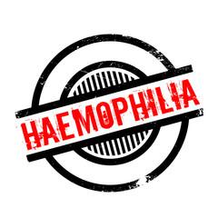 Haemophilia rubber stamp