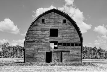 big rustic barn