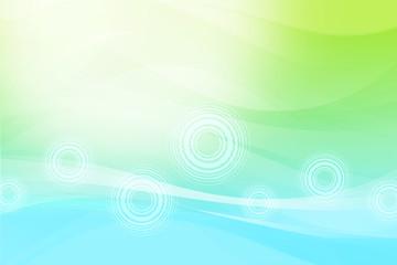 抽象的な背景 水と緑と環境