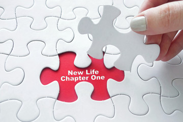 New Life Chapter One on jigsaw puzzle