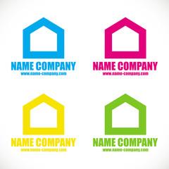 logo artisan maison peinture décorateur conseil