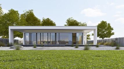 Villa am Tag