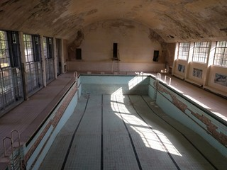 Old Swimming Pool at the Olympic Village of 1936, Berlin