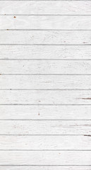White wooden wall, boards. Old white rustic wood background, wooden surface