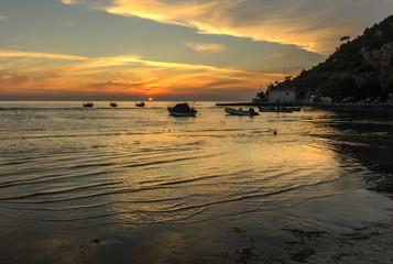Sunset in Karina
