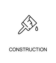 Construction flat icon