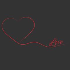 Herz - Vektor Grafik