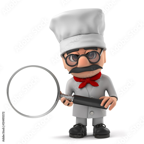 Cartoon Characters W Glasses : Quot d funny cartoon italian pizza chef character with