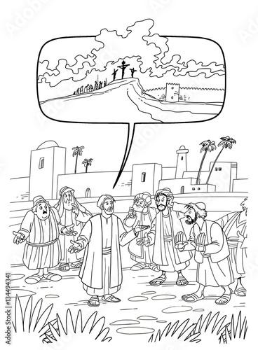 """Jesus Predicts His Suffering And Death"" Stockfotos Und"