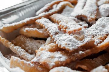 Frappe, dolce tipico della cucina italiana
