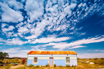 Colored Rural House in the winderness of Mandela Bay, Mandela Bay