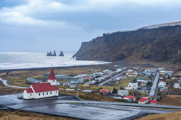 Vik's Church, A little Church in Southern Iceland