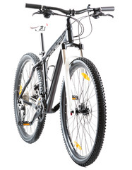 Mountain Bike With 29 Inch Wheels On White