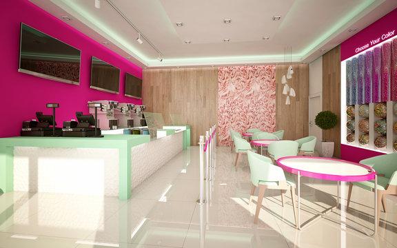 Ice Cream Shop Camera 3