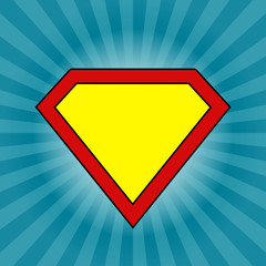 Keep calm Super man logo