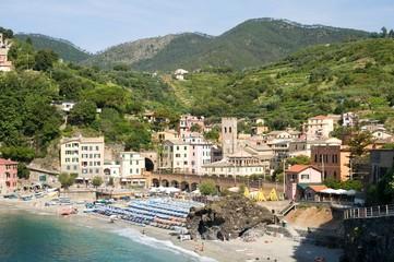 Village Monterosso al Mare in the Cinque Terre, Liguria, Italy