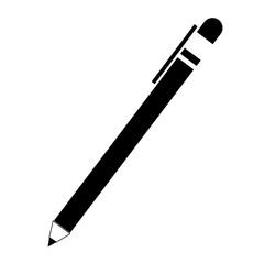 single pen icon image vector illustration design