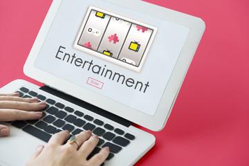 Entertainment Enjoyment Game Fun Concept