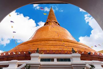 Big pagoda most in Thailand