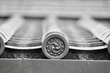 Japanese Roof Detail