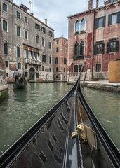 Venice-the pearl of the world architecture./The ancient city of Venice is in Italy on the Gulf of Venice. Famous streets - channels , the movement which is possible only by boat .