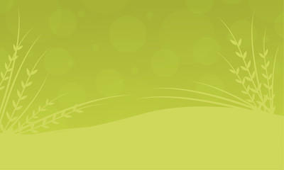 Illustration vector of spring background collection