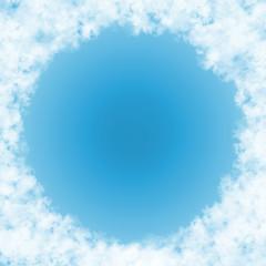 雲、煙、綿、羽毛のイメージ