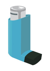 Vector image of an inhaler
