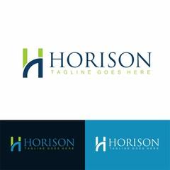 letter H business logo inspiration