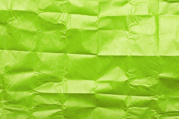 green tissue paper texture for background