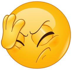face palm emoticon