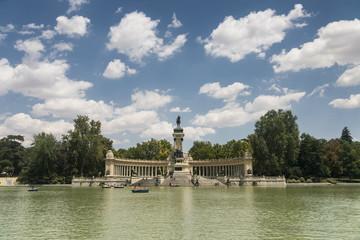 Madrid (Spain): Buen Retiro park
