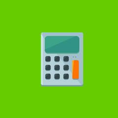 calculator icon flat disign