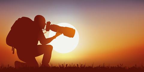 Photographe - nature - Coucher de soleil