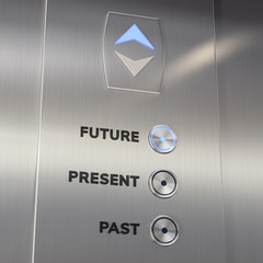 Elevator time machine going to the future