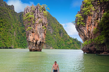 bain sur james bond island
