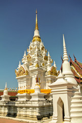 Phra Borommathat Chaiya Constructed along Mahayana Buddhist's beliefs of the 7th century, the great chedi is reputedly the best preserved Srivijaya artwork in Thailand