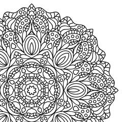 Mandala. Coloring book pages