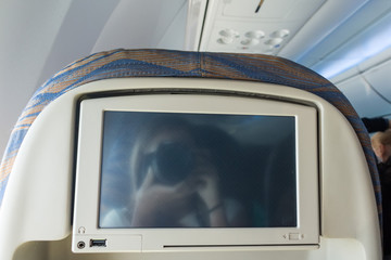 Mutimedia system in airplane