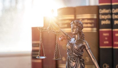 Legal law concept Justice symbol