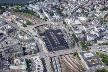 Hamburg - Germany - Panorama from above